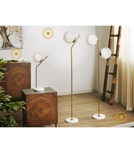 Lámpara de mesa Cosmos dorada