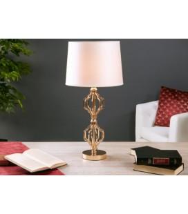 Lámpara de mesa Kiara dorada