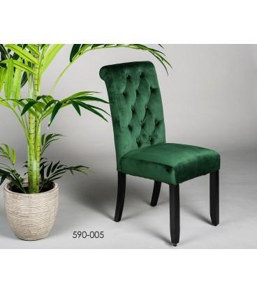 Silla verde Oliver