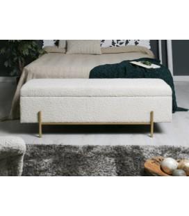 Pie de cama Asturias beige