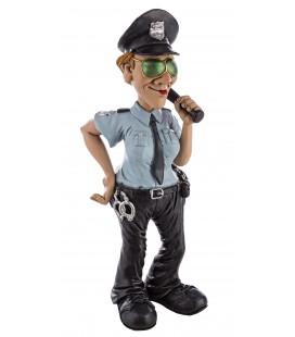 FIGURA CARICATURA POLICÍA