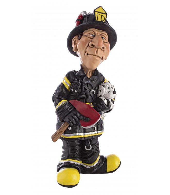 Figura caricatura de bombero una idea perfecta para regalar.