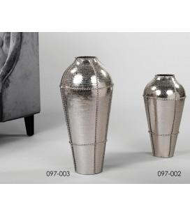 Jarrones de pie aluminio grandes Keinam