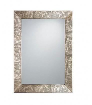 Espejo lazo oro int 30x40 ext 42x59 cm
