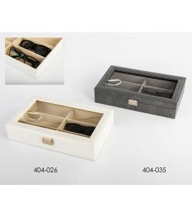 Caja porta gafas polipiel