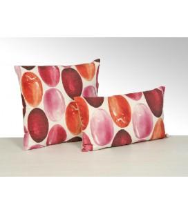 Cojín con relleno cuadrado o rectangular en color rosa