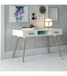 Mesa de estudio Lilo blanco y madera