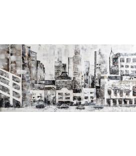 Cuadro lienzo de la ciudad de New York