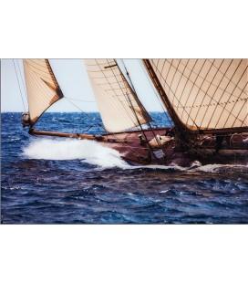 Marco Náutica de cristal veleros y barcos