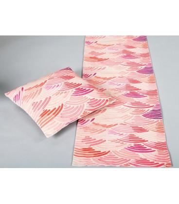 Camino de mesa tival rosa