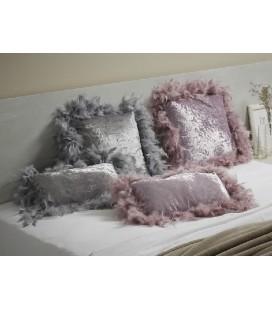 Cojín algodón rosa Bufy