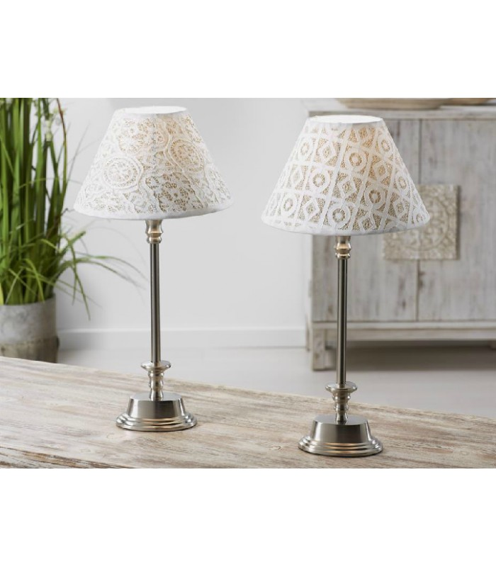 Unas sencillas y originales l mparas de mesa de aluminio y - Lamparas de mesa originales ...