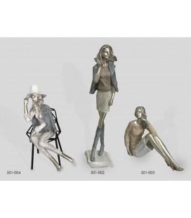Figuras de decoración mujer