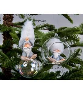 Colgantes para el árbol Papá Noel