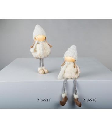 Muñecas niñas grises