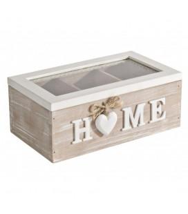 Caja decorative home corazón