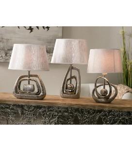 Lámparas de mesa Asterix plata