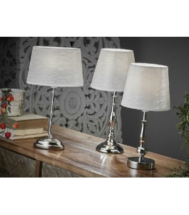 Lámparas de mesa Elegance plata
