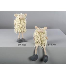Figuras de peluche oveja