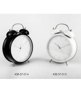 Reloj despertador grande blanco o negro