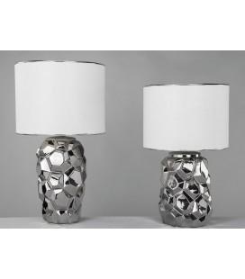 Lámparas de mesa Piña plata