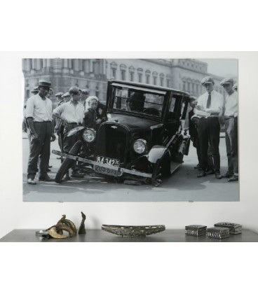 Cuadro cristal impreso Chaplin