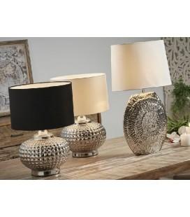 Lámparas de mesa Iglú plata