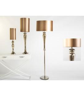 Lámparas de mesa Coco dorada