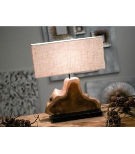 Lámpara de mesa Trey rústica