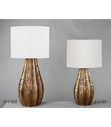Lámpara de mesa  Feliz dorada