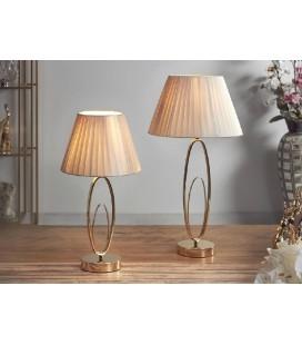 Lámpara de mesa dorada Jorge