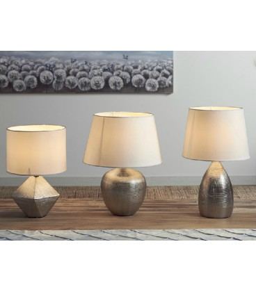 Lámparas de mesa Nube plata