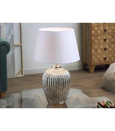 Lámparas de mesa plata Carlos
