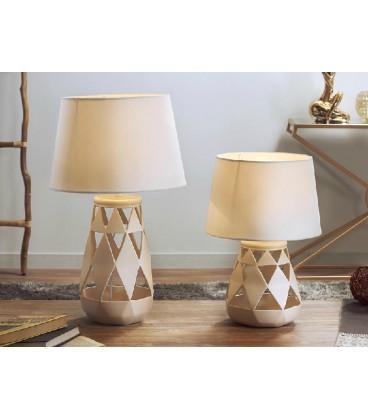 Lámpara de mesa Opium beige