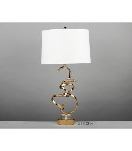 Lámparas de mesa dorada Eclipse