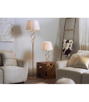 Lámparas de mesa dorada Marta