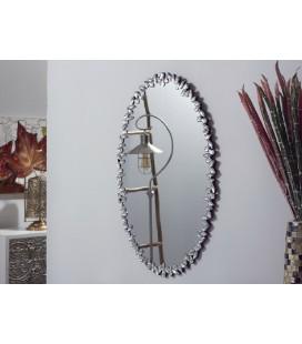 Espejo de pared decorativo ovalado Palmas