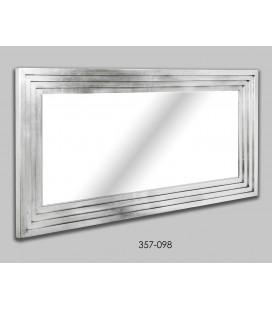 Espejo grande de pared plata San Sebastian