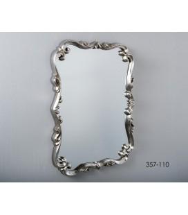 Espejo De pared plata OASIS