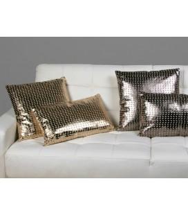 Cojines Segovia plata o dorado