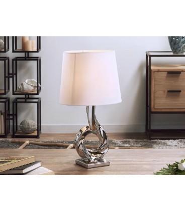Lámparas de mesa plata Mateo