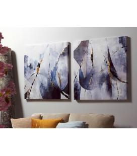 Cuadros Claki conjunto abstracto