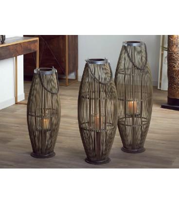 Faroles de bambú biko