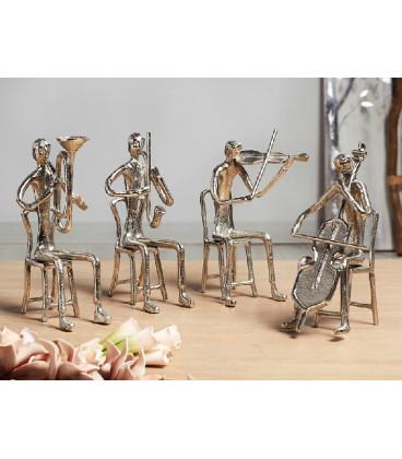 Figuras conjunto músicos