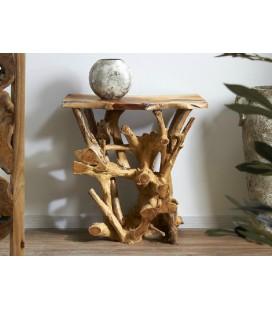 Consola de madera de teca Esteban