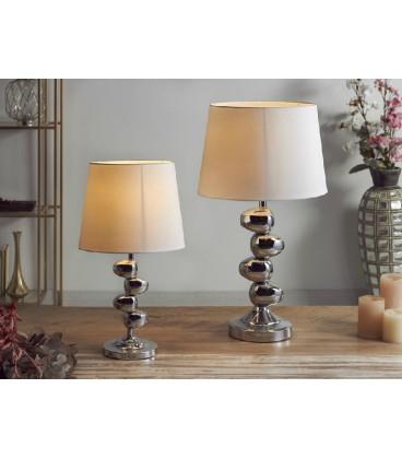 Lámparas de mesa Oasis plata
