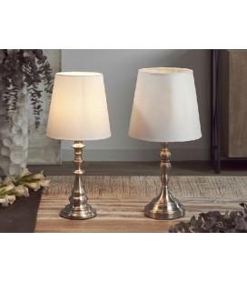 Lámparas de mesa ELENA plata