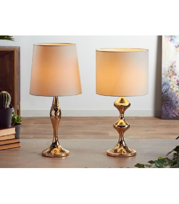 Lámparas de mesa Bou dorada