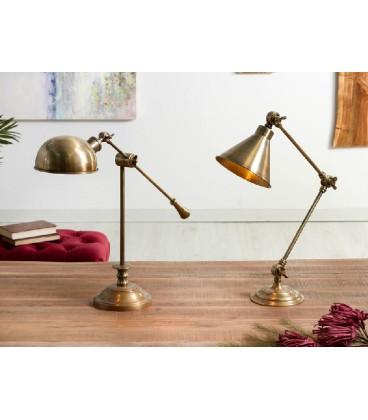 Lámparas de mesa Alazne bronce