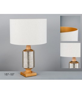 Lámpara de sobremesa cristal Lazo